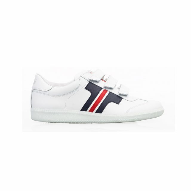 Tisza Shoes - Compakt Delux - WHITE-BLUE-RED