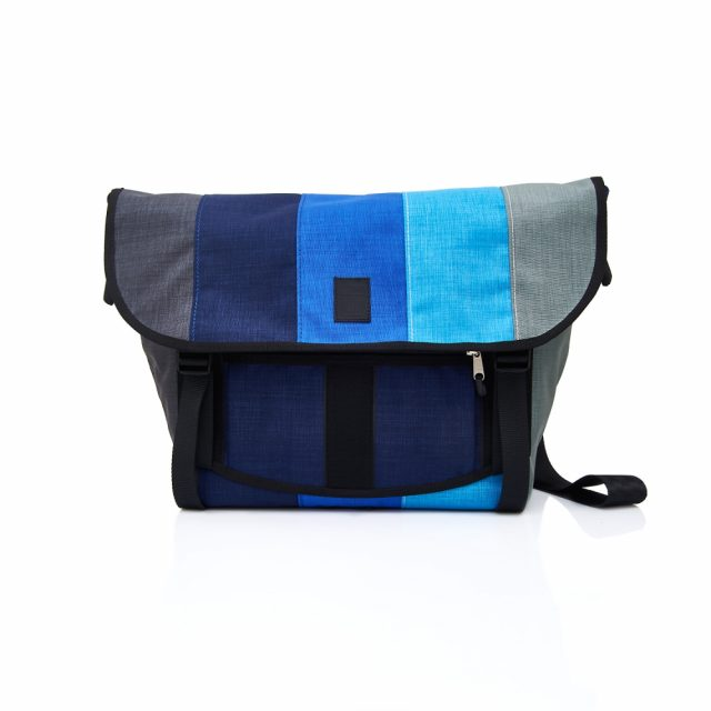 Tisza Shoes - Bagaboo bag - grey-blue-blue