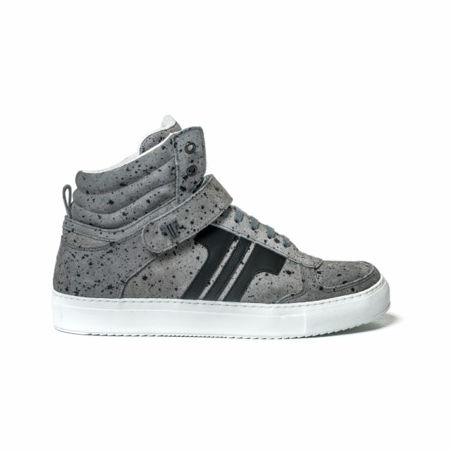 Tisza Shoes - M4 - Grey-splash black