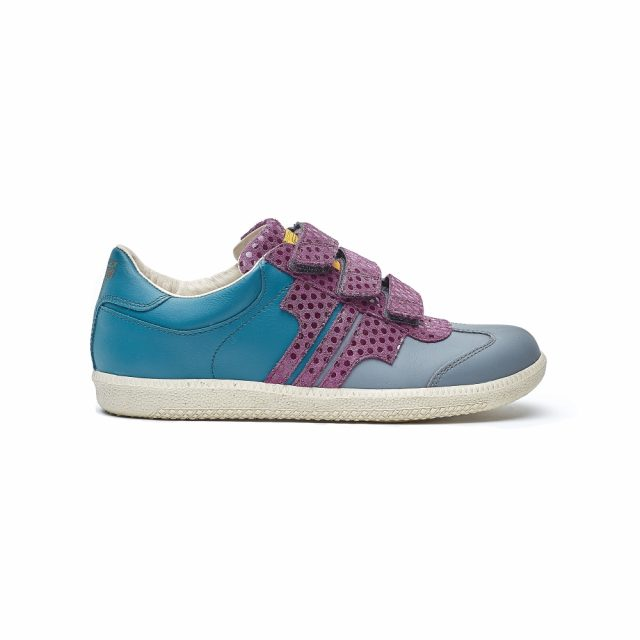 Tisza Shoes - Compakt Delux - grey-purple-bluecoral