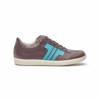 Tisza Shoes - Compakt - brown-aqua