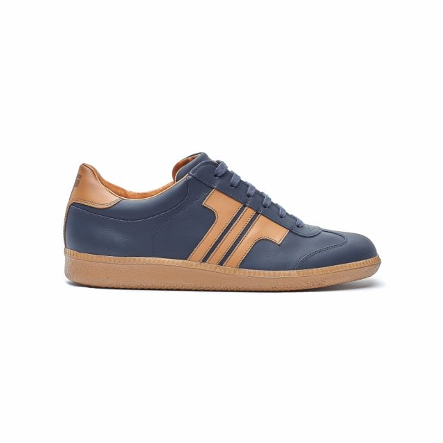 Tisza Shoes - Compakt - darkblue-tobacco