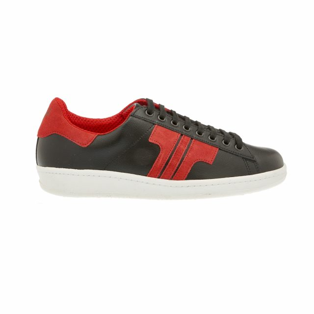 Tisza Shoes - Tradíció - Black-Red