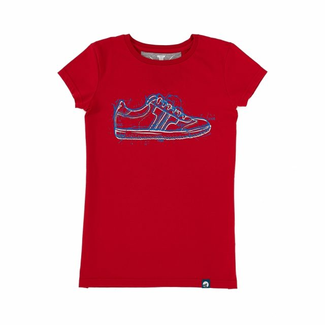 Tisza Shoes - Póló - Women T-shirt red