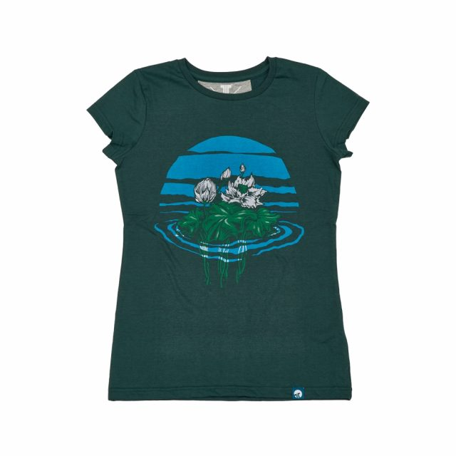 Tisza Shoes - Póló - Women T-shirt green