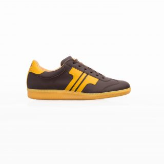 Tisza cipő - Compakt - Barna-sárga