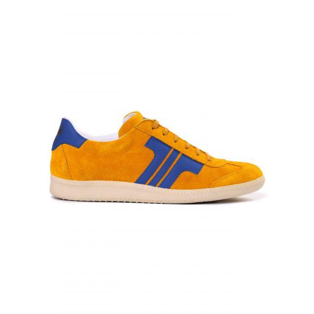 Tisza cipő - Comfort - Sárga-royal