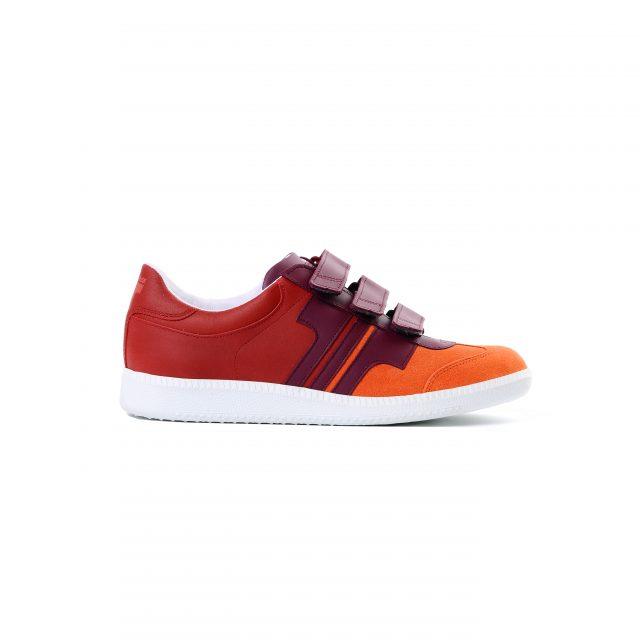 Tisza cipő - Compakt delux - Lazac-bordó-meggy