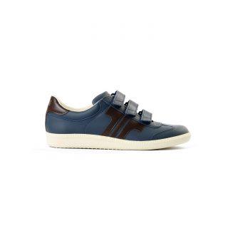 Tisza cipő - Compakt delux - Sötétkék-barna