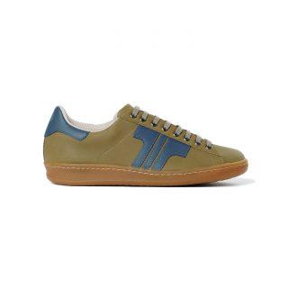 Tisza cipő - Tradíció '80 - Khaki-kopott farmer