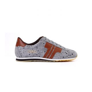 Tisza cipő - Martfű - Szürke-rozsda