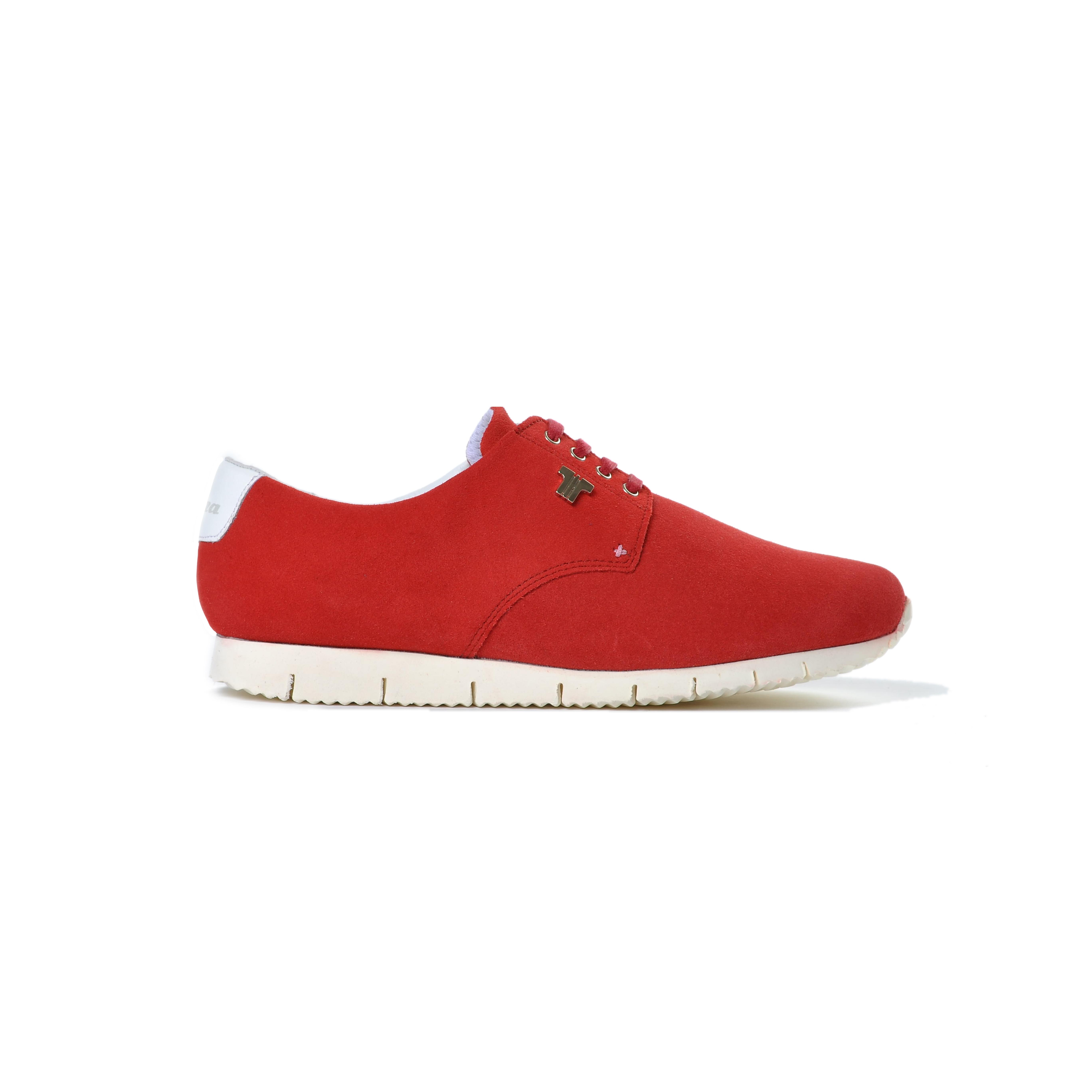 Tisza cipő - Public - Meggy-fehér
