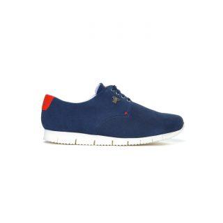 Tisza cipő - Public - Sötétkék-piros