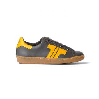 Tisza cipő - Tradíció '80 - Barna-sárga
