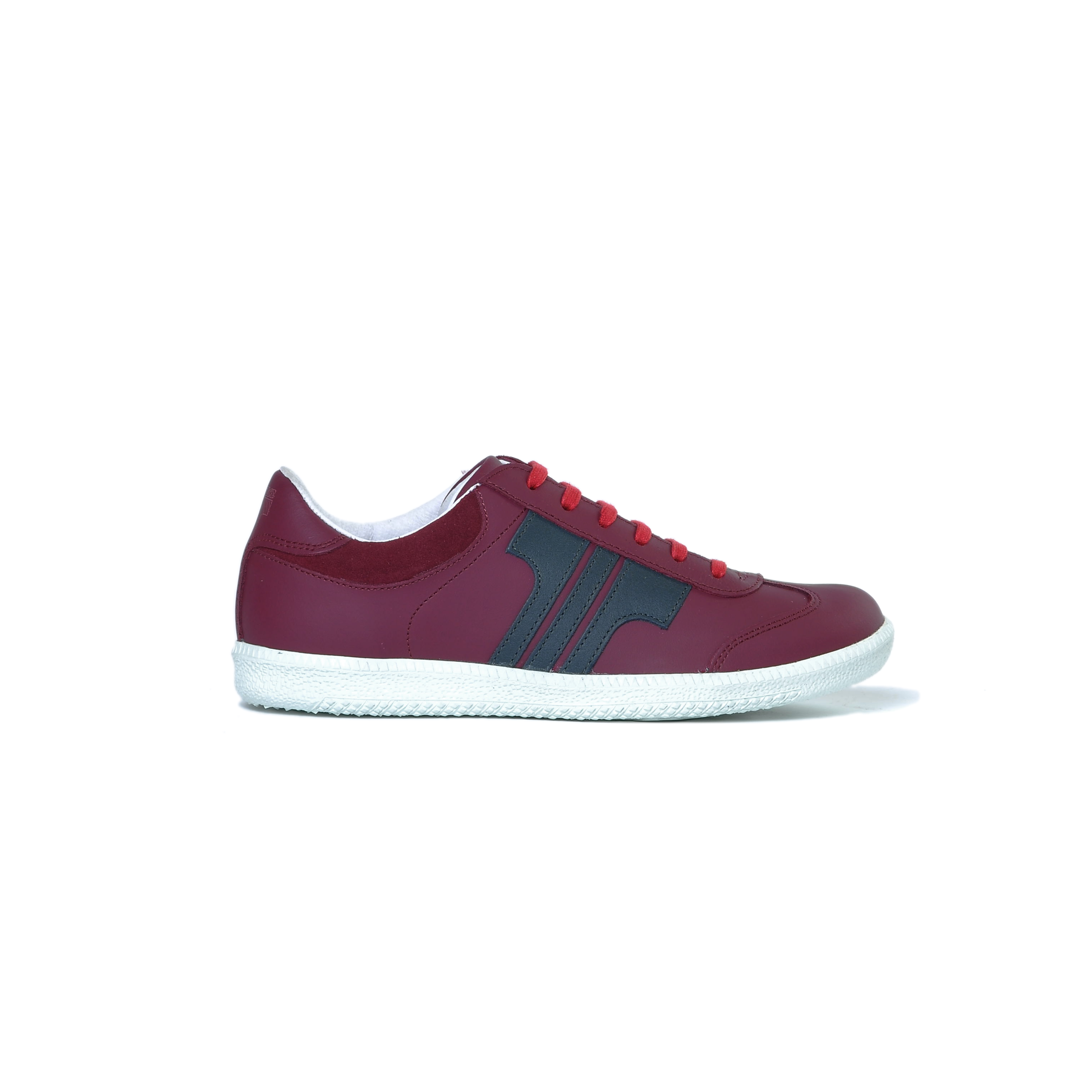 Tisza cipő - Compakt - Bordó-árnyék