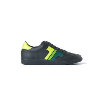 Tisza cipő - Compakt - Fekete-3zöld