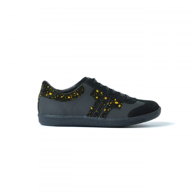Tisza cipő - Compakt - Fekete-spalsh sárga