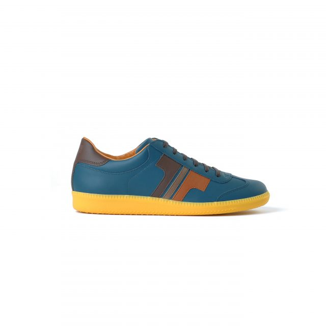 Tisza cipő - Compakt - Kék koral-3barna