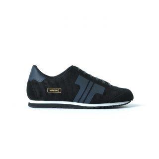 Tisza cipő - Martfű - Fekete-sötétkék