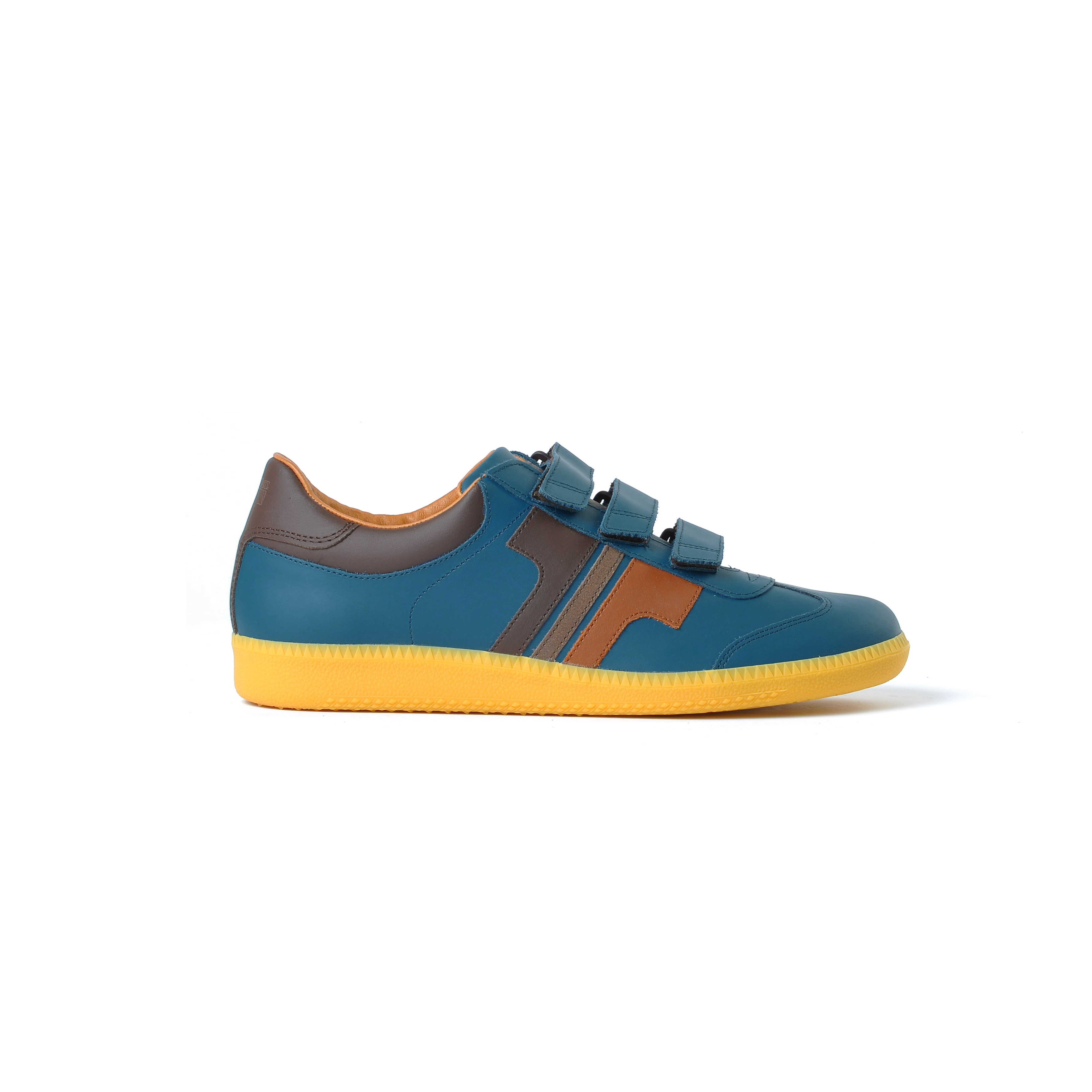 Tisza cipő - Compakt delux - Kék koral-3barna