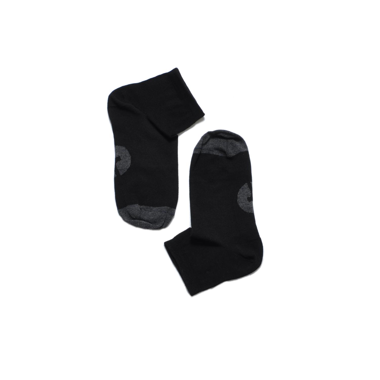 Tisza cipő - Zokni - Fekete-szürke