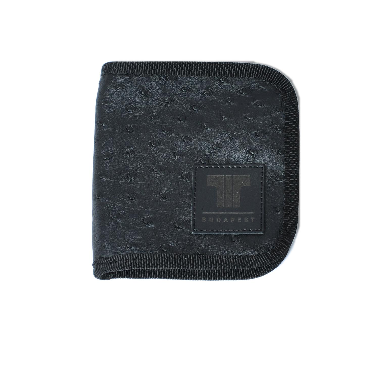 Tisza cipő - Pénztárca - Fekete-strucc