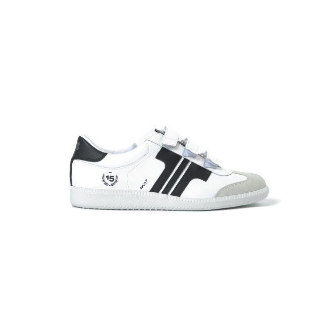Tisza cipő - Compakt Delux - Fehér-fekete