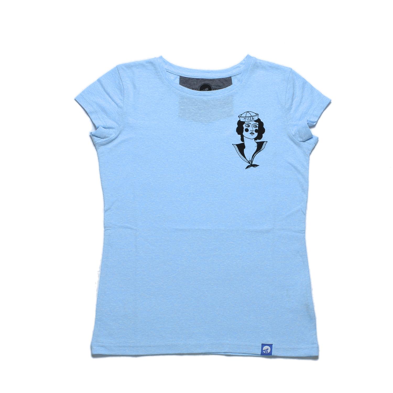 Tisza cipő - női póló - Matróz lány