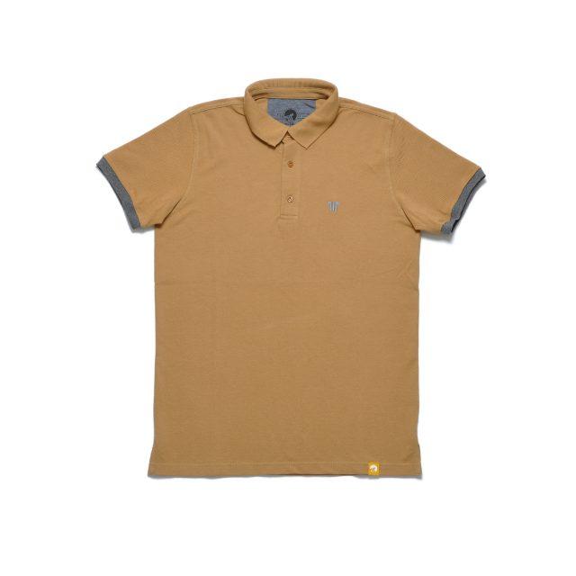 Tisza cipő - Galléros póló - Dohány