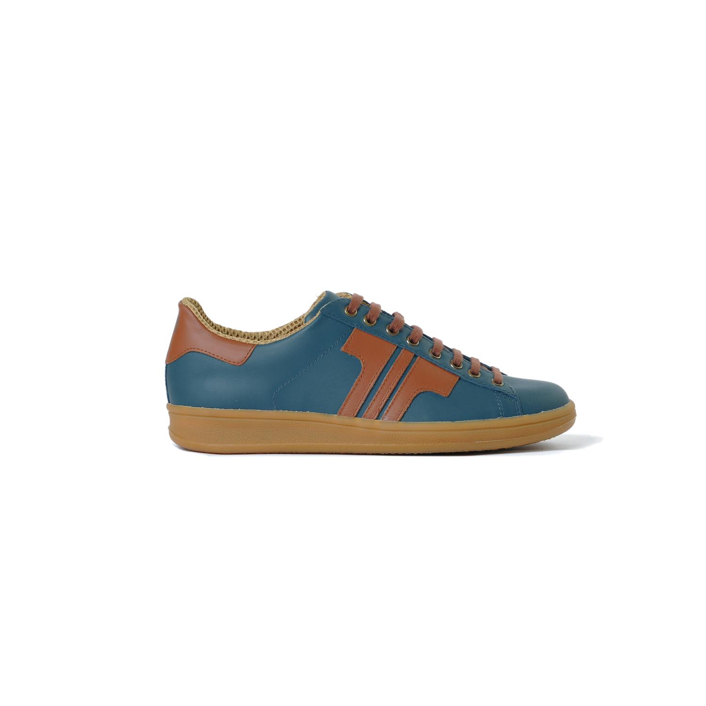 Tisza cipő - Tradíció'80 - Kék koral-rozsda