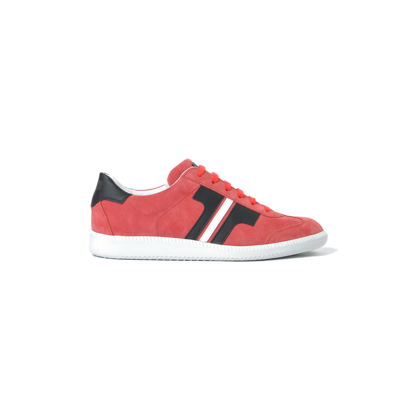 Tisza cipő - Comfort - Piros-fekete-fehér