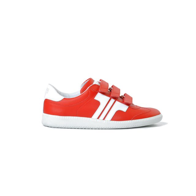 Tisza cipő - Compakt Delux - Piros-fehér