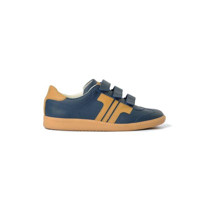 Tisza cipő - Compakt Delux - Sötétkék-dohány