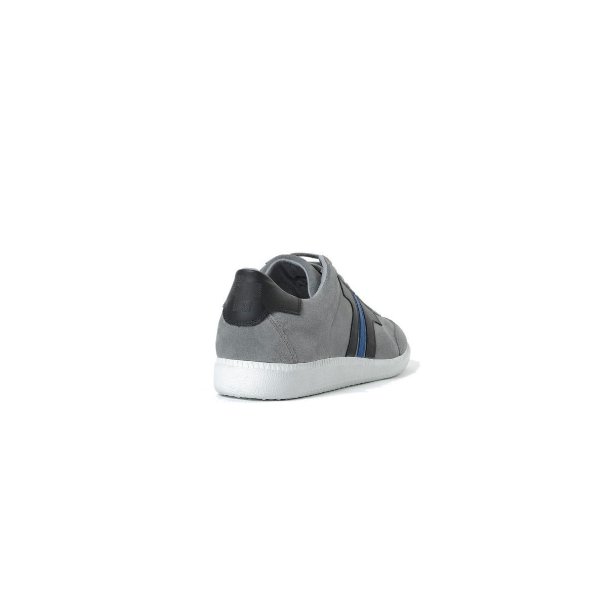 Tisza cipő - Comfort - Szürke-fekete-royal