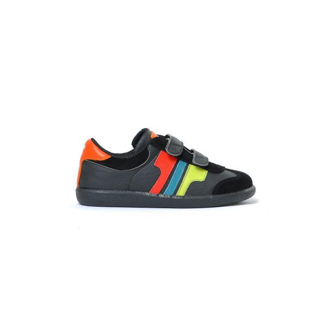 Tisza cipő - Junior - Fekete-multicolor