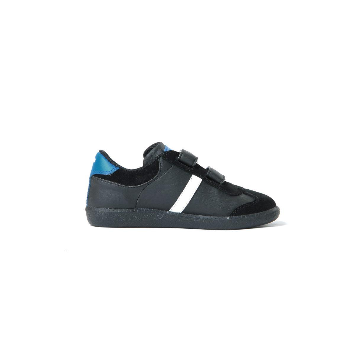 Tisza cipő - Junior - Fekete-royal-fehér-piros
