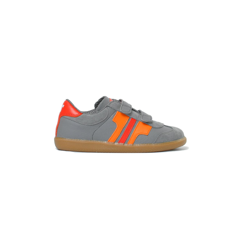 Tisza cipő - Junior - Szürke-narancs-piros
