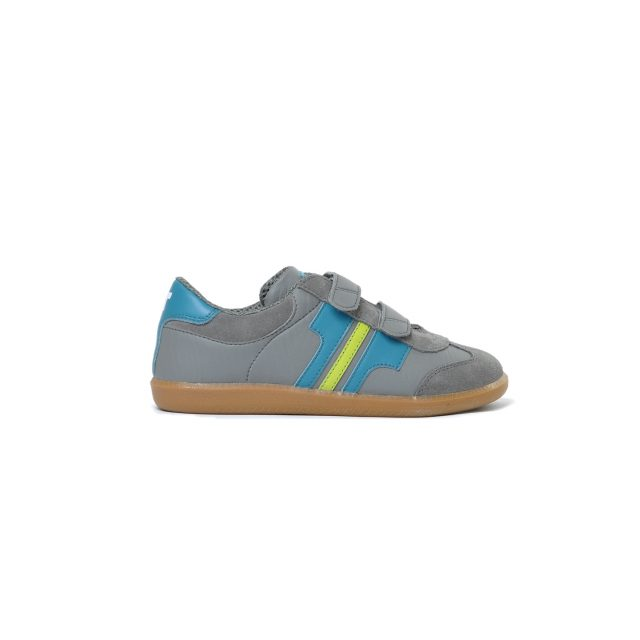 Tisza cipő - Junior - Szürke-víz-ánizs