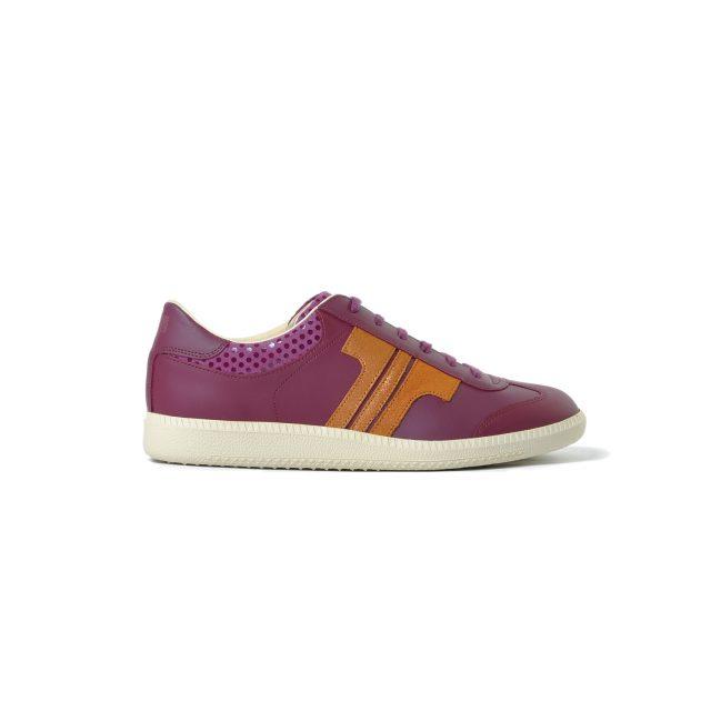 Tisza cipő - Compakt - Bordó-rózsaarany