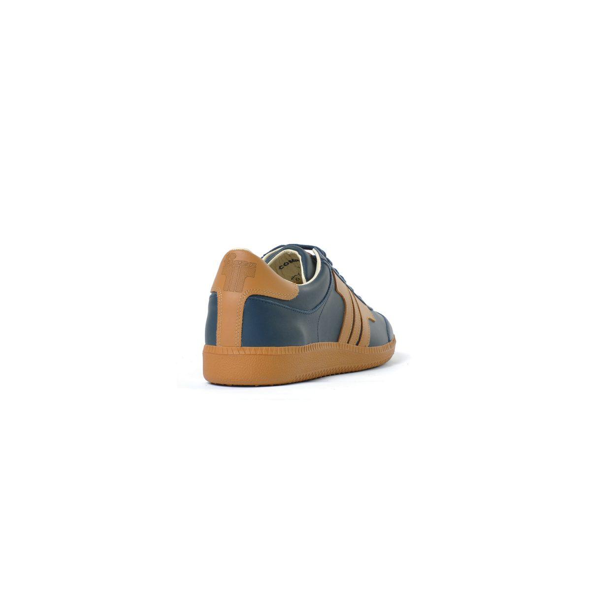 Tisza cipő - Compakt - Sötétkék-dohány