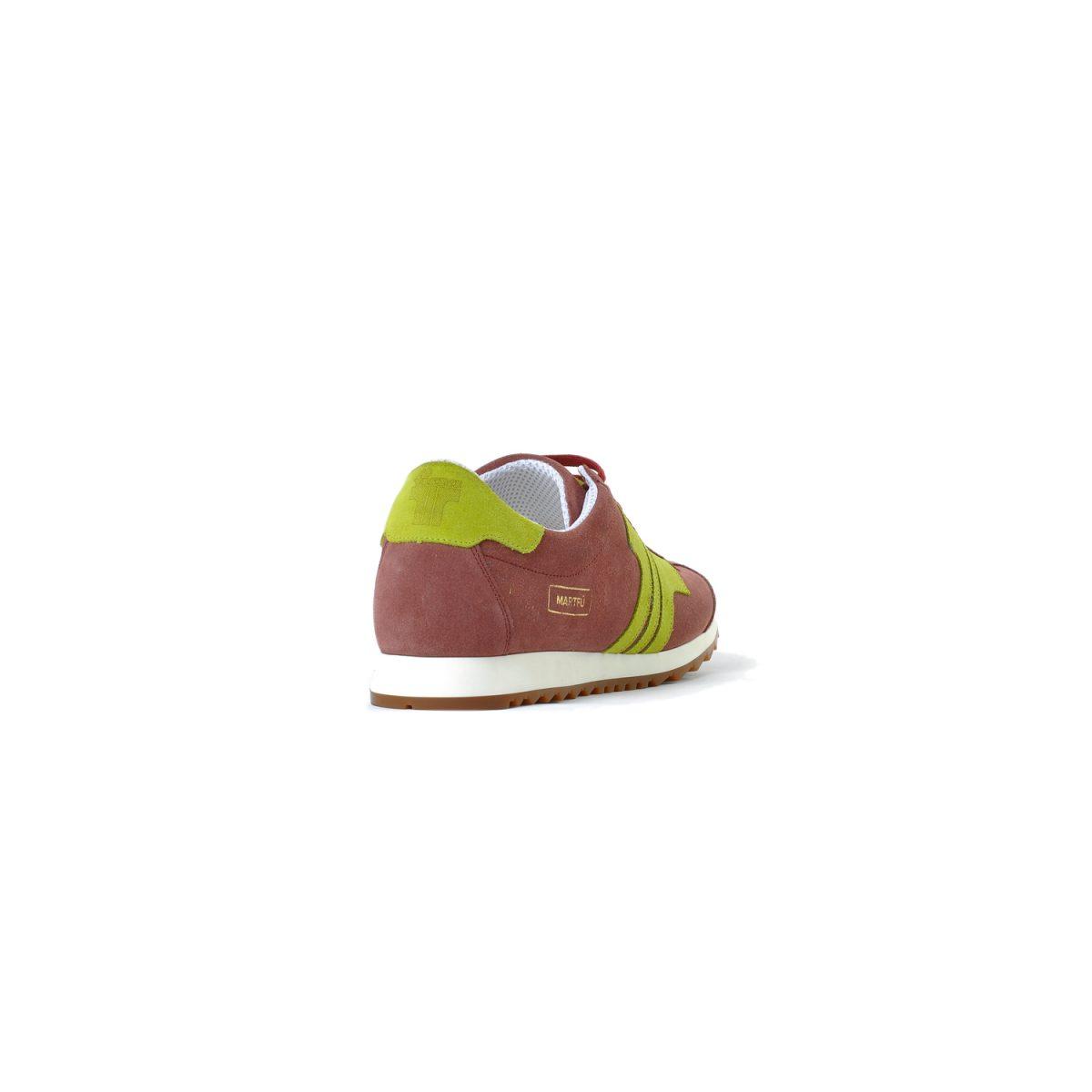Tisza cipő - Martfű - Gesztenye-lime