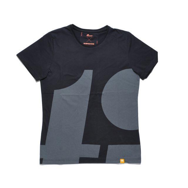 Tisza cipő - Póló - Fekete-tipo
