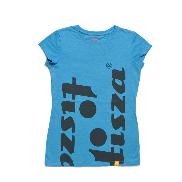 Tisza cipő - Női póló - Türkiz-idol