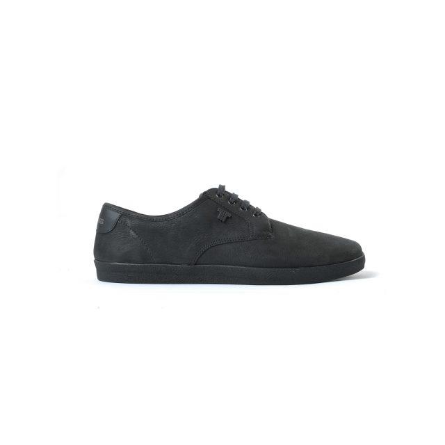 Tisza cipő - City - Fekete bőr