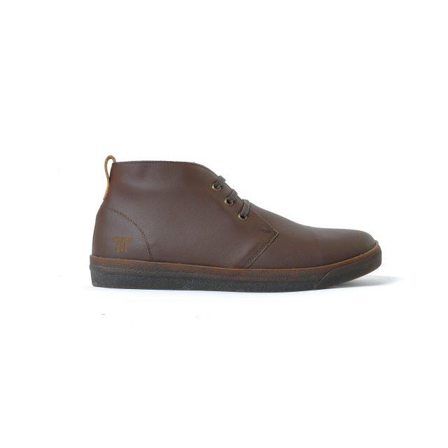 Tisza cipő - Alfa - Barna bélelt