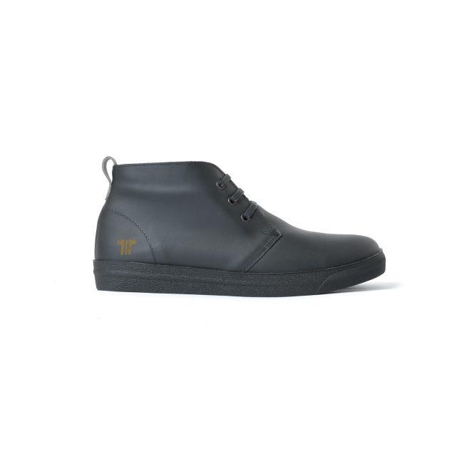 Tisza cipő - Alfa - Fekete bélelt