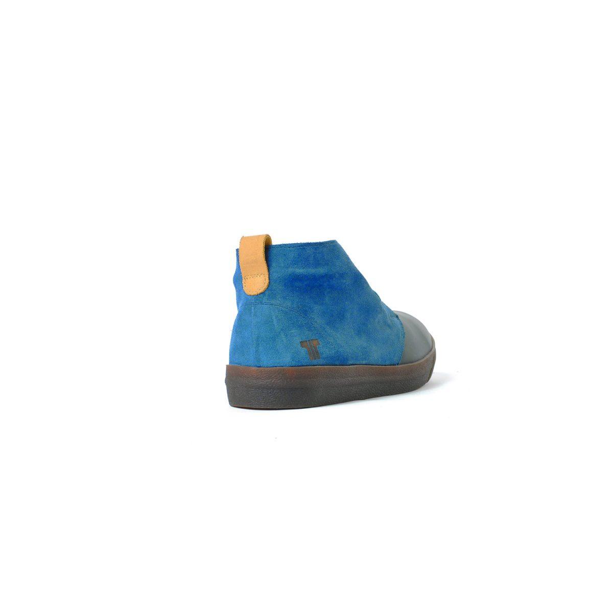 Tisza cipő - Alfa - Sötétkék-dohány