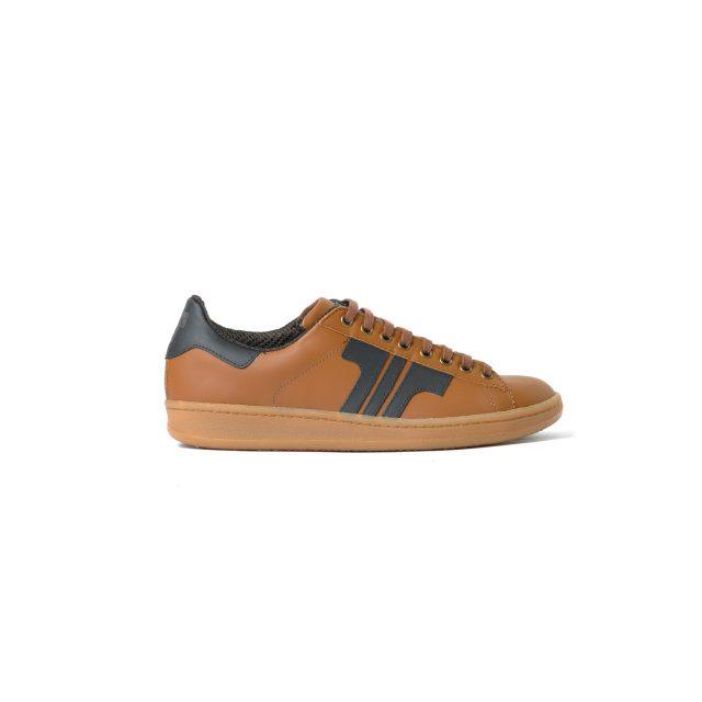 Tisza cipő - Tradíció'80 - Bronzbarna-fekete