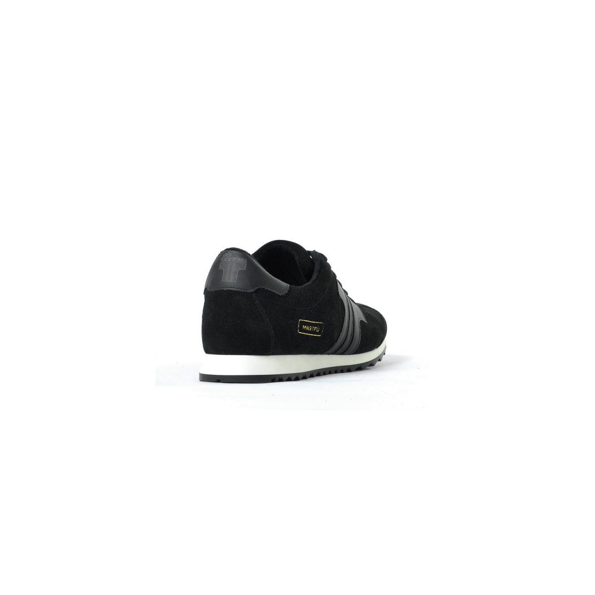 Tisza cipő - Martfű - Fekete bélelt
