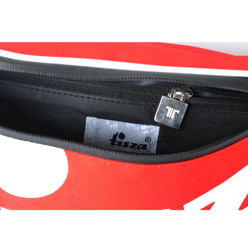 Tisza cipő - Nagy övtáska - Piros